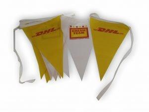 Διαφημιστική γιρλάντα με σημαιάκια