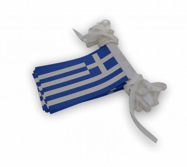 σχολικες σημαίες χαρτινες σε γιρλαντα κοκκώνης