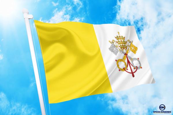 ΑΓΟΡΑ-ΤΙΜΕΣ-ΣΗΜΑΙΕΣ-χωρων -κρατων διαστασεις-ΚΟΚΚΩΝΗΣ---Βατικανό σημαια κοκκωνης σημαιες vatican-city flagg