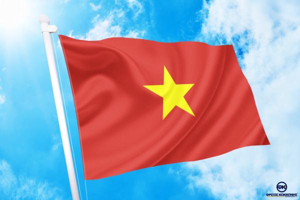 ΑΓΟΡΑ-ΤΙΜΕΣ-ΣΗΜΑΙΕΣ-χωρων -κρατων διαστασεις-ΚΟΚΚΩΝΗΣ---Βιετνάμ σημαια κοκκωνης σημαιες Βιετνάμ vietnam flag