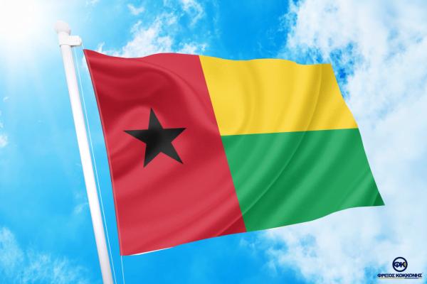 ΑΓΟΡΑ-ΤΙΜΕΣ-ΣΗΜΑΙΕΣ-χωρων -κρατων διαστασεις-ΚΟΚΚΩΝΗΣ--Γουινέα Μπισάου σημαια κοκκωνης σημαιες guinea bissau flag
