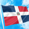 ΑΓΟΡΑ-ΤΙΜΕΣ-ΣΗΜΑΙΕΣ-χωρων -κρατων διαστασεις-ΚΟΚΚΩΝΗΣ--Δομινικανή Δημοκρατία σημαια κοκκωνης σημαιες dominican republic flag