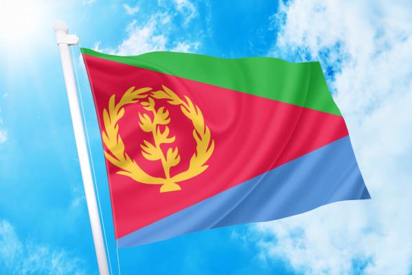 ΑΓΟΡΑ-ΤΙΜΕΣ-ΣΗΜΑΙΕΣ-χωρων -κρατων διαστασεις-ΚΟΚΚΩΝΗΣ---- Ερυθραία σημαια κοκκωνης σημαιες erithrea flag