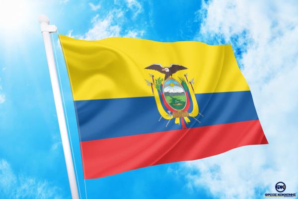 ΑΓΟΡΑ-ΤΙΜΕΣ-ΣΗΜΑΙΕΣ-χωρων -κρατων διαστασεις-ΚΟΚΚΩΝΗΣ---- Ισημερινός σημαια κοκκωνης σημαιες ecuador flag