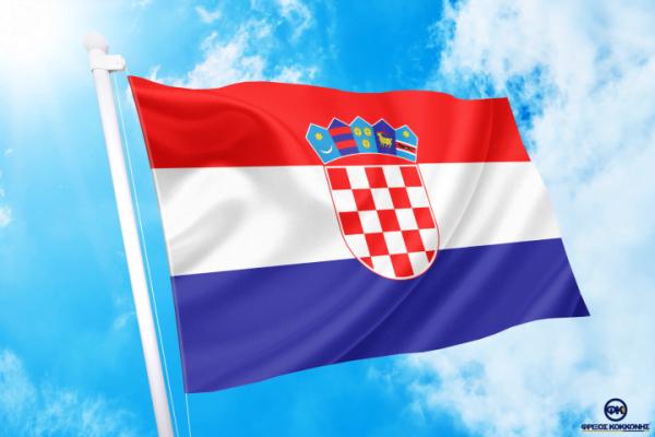 ΑΓΟΡΑ-ΤΙΜΕΣ-ΣΗΜΑΙΕΣ-χωρων -κρατων διαστασεις-ΚΟΚΚΩΝΗΣ---- Κροατία σημαια κοκκωνης σημαιες croatia flag