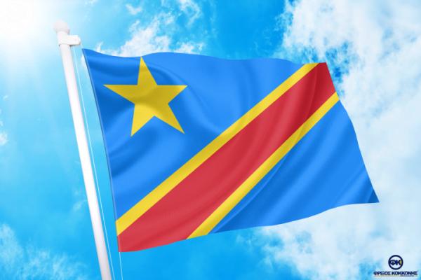 ΑΓΟΡΑ-ΤΙΜΕΣ-ΣΗΜΑΙΕΣ-χωρων -κρατων διαστασεις-ΚΟΚΚΩΝΗΣ---- Λαϊκή Δημοκρατία του Κονγκό σημαια κοκκωνης σημαιες congo democratic flag