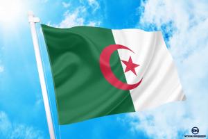 ΑΓΟΡΑ-ΤΙΜΕΣ-ΣΗΜΑΙΕΣ-χωρων -κρατων διαστασεις-ΚΟΚΚΩΝΗΣ----αλγερια σημαια κοκκωνης σημαιες algeria flag