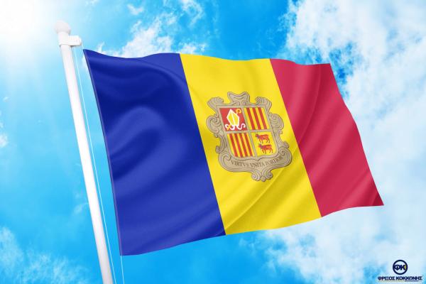 ΑΓΟΡΑ-ΤΙΜΕΣ-ΣΗΜΑΙΕΣ-χωρων -κρατων διαστασεις-ΚΟΚΚΩΝΗΣ----ανδορρα σημαια κοκκωνης σημαιες andoro flag