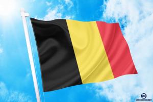 βελγιο σημαια κοκκωνης σημαιες belgium flag