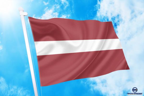 ΑΓΟΡΑ-ΤΙΜΕΣ-ΣΗΜΑΙΕΣ-χωρων -κρατων διαστασεις-ΚΟΚΚΩΝΗΣ---- λετονια σημαια κοκκωνης σημαιες latvia flag