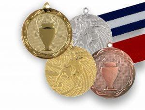 Μετάλλια - Κορδέλες