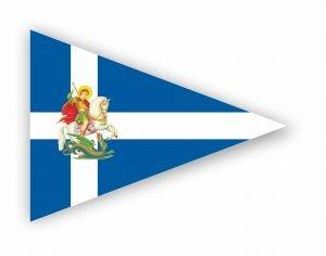 αγιος γεωργιος σημαια