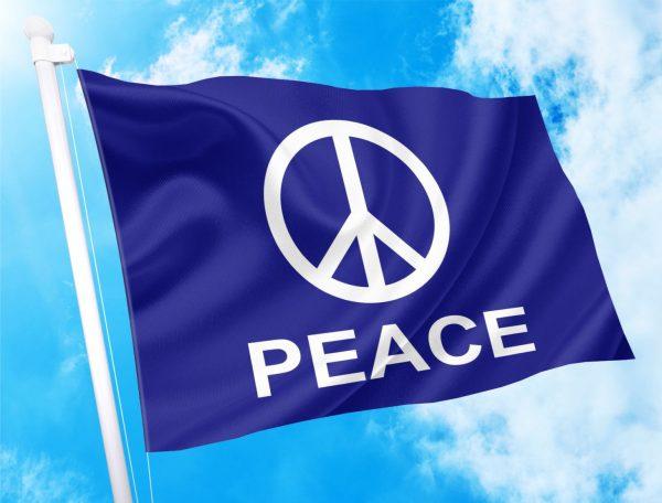 PEACE FLAG ΣΗΜΑΙΑ ΕΙΡΗΝΗΣ