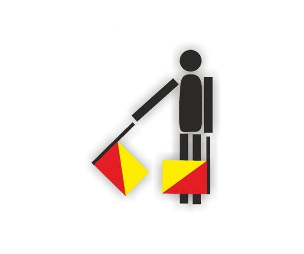 Semaphore Σημαία με κοντάρι Σημαίες Κοκκώνης COCONIS FLAGS Τιμή αγορά